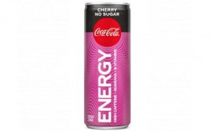 Coca cola energy cherry no sugar (blik 250 ml)