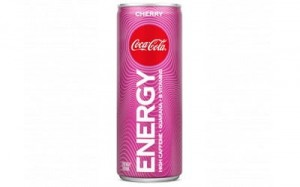 Coca cola energy cherry regular (blik 250 ml)