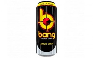 Bang energy drink lemon drop (blik 500 ml)