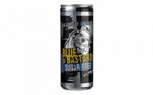 Blue bastard energy drink sugar free (blik 250 ml)